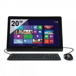 """Packard Bell oneTwo S AK4G1TU04 AMD Dual Core E1-2500 4Go 1To 20"""" Windows 8"""