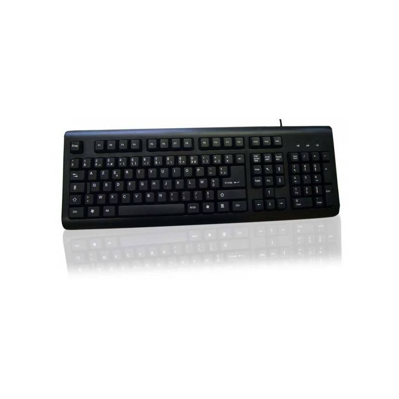 clavier usb standard azerty fran ais avec pav num rique laptopservice. Black Bedroom Furniture Sets. Home Design Ideas
