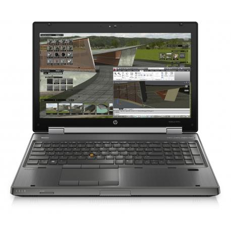 HP EliteBook 8570w 8Go 24Go SSD + 750Go