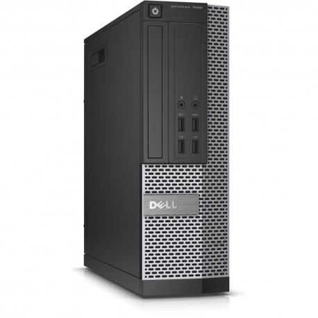 Pc bureau professionnel reconditionné - Dell OptiPlex 7020 SFF - 4Go - 500Go HDD - Windows 10 pro