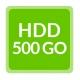Remplacement HDD 500Go - Ordinateur reconditionné