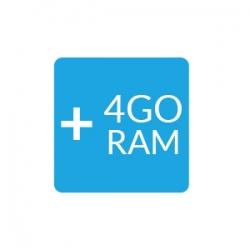 Upgrade 4Go de RAM