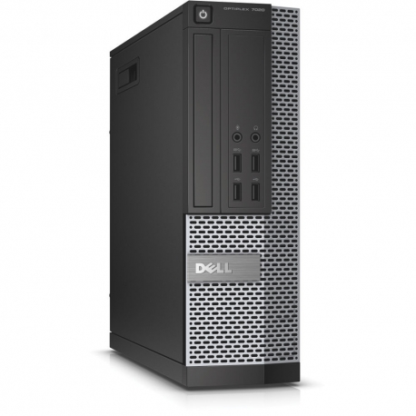 Pc de bureau professionnel reconditionné - Dell OptiPlex 7020 SFF - 4Go - 250Go HDD - Windows 10 pro
