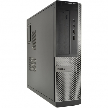 Pc de bureau - Dell OptiPlex 3010 DT reconditionné -  4Go - 2To HDD