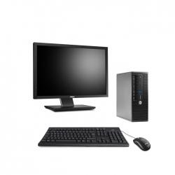 Pack HP ProDesk 400 G3 SFF - 8Go + Ecran 22