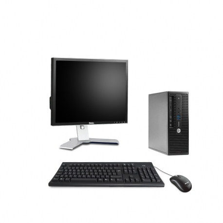 Pack HP ProDesk 400 G3 SFF - 8 Go - 2To HDD + Ecran 20