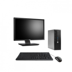 Pack HP ProDesk 400 G3 SFF - 8 Go - 2To HDD + Ecran 22