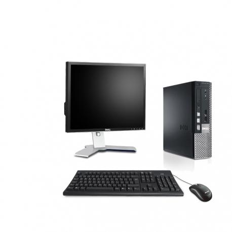 Dell OptiPlex 790 DT - 4Go - 500Go HDD - ECRAN 19