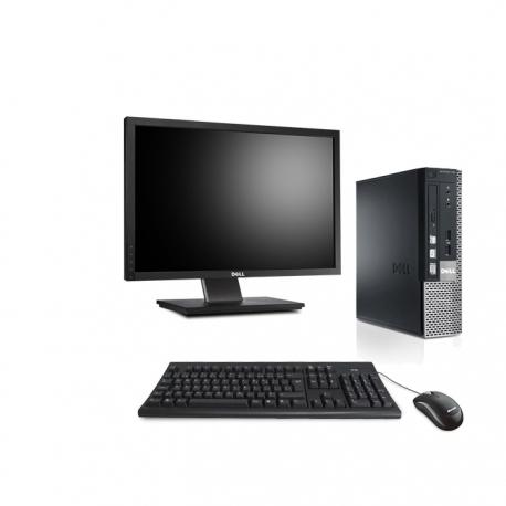 Dell OptiPlex 790 DT - 8Go - 240Go SSD - ECRAN 22