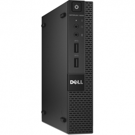 Pc de bureau reconditionné - Dell OptiPlex 3020 SFF - 4Go - SSD 120Go - Ubuntu / Linux
