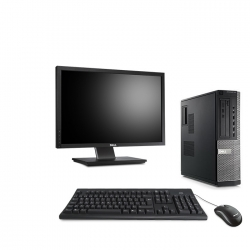 Dell OptiPlex 790 DT - 4Go - 320Go HDD