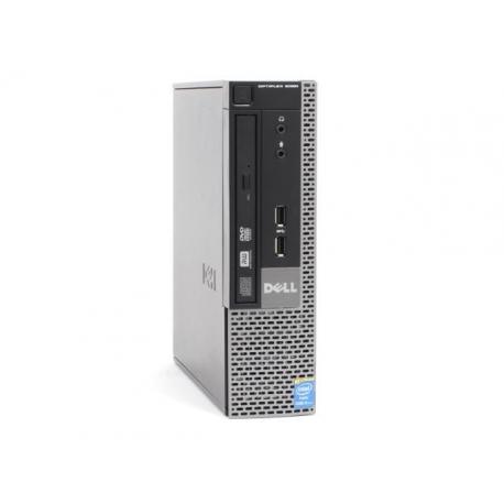 Ordinateur de bureau reconditionne - Dell OptiPlex 9020 USFF - 4Go - 320Go HDD - Windows 10