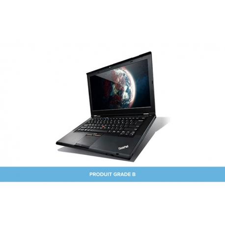 Ordinateur portable reconditionné - Lenovo ThinkPad T430 - 8Go - HDD 320Go - Grade B