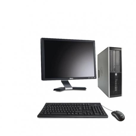 HP Elite 8300 DT - 4Go - 120Go ssd + Ecran 20