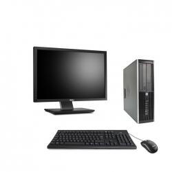 "Pack HP Elite 8300 DT - 4Go - 120Go SSD + Ecran 22"""