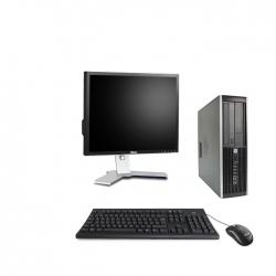 HP Elite 8300 DT - 4Go - 120Go ssd + Ecran 19