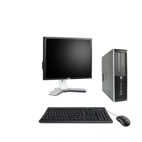 HP Elite 8300 DT - 4Go - 500Go ssd + Ecran 19
