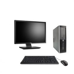 HP Elite 8300 DT - 4Go - 500Go ssd + Ecran 22