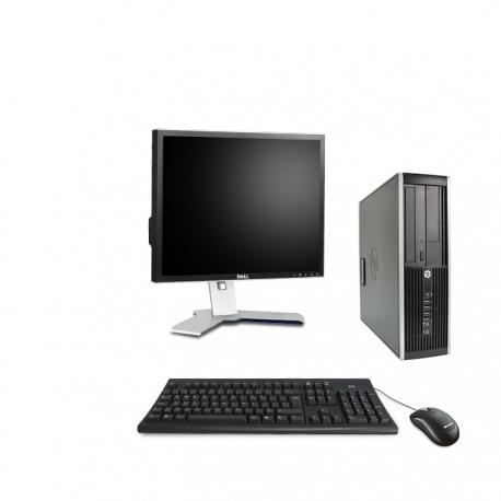 HP Elite 8300 DT - 8Go - 250Go + Ecran 19 - Ubuntu