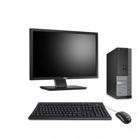 Dell OptiPlex 3020 SFF  4Go - 120Go SSD - Ecran 22