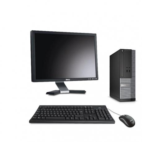 Dell OptiPlex 3020 SFF  8Go - 120Go SSD - Ecran 20
