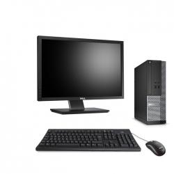 Dell OptiPlex 3020 SFF  8Go - 120Go SSD - Ecran 22
