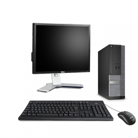 Dell OptiPlex 3020 SFF  4Go - 240Go SSD - Ecran 19