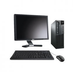 "Lenovo ThinkCentre M81 SFF - i5 - 8Go - 500Go HDD + écran 20"""