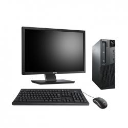 "Lenovo ThinkCentre M81 SFF - i5 - 4Go - 250Go HDD + écran 22"""