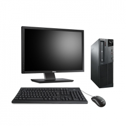 "Lenovo ThinkCentre M81 SFF - i5 - 4Go - 500Go HDD + écran 22"""