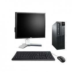 """Lenovo ThinkCentre M81 SFF - i5 - 8Go - 250Go HDD + écran 20"""" - Ubuntu / Linux"""