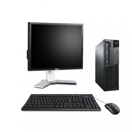 """Lenovo ThinkCentre M81 SFF - i5 - 8Go - 250Go HDD + écran 22"""" - Ubuntu / Linux"""