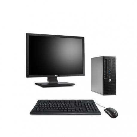 Pack HP ProDesk 400 G3 SFF linux  + Ecran 22