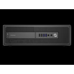 Ordinateur de bureau - HP EliteDesk 800 G1 SFF reconditionné - 8Go - 500Go HDD