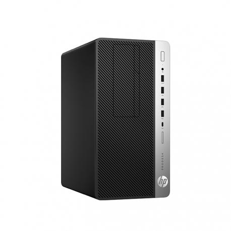 HP ProDesk 600 G3 Mini Tour - Pc de bureau reconditionné - 8Go - 1To HDD - Linux