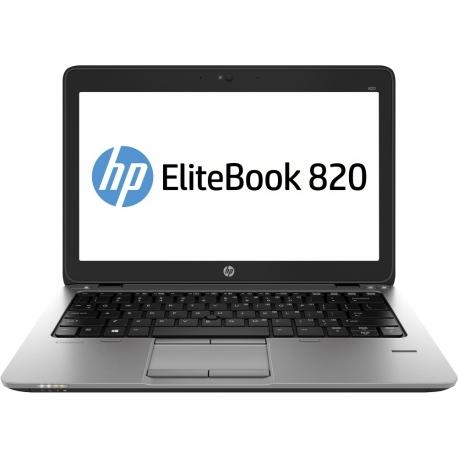 HP EliteBook 820 G1 - Ordinateur portable reconditionné - 8 Go - SSD 120 Go - Linux