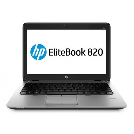 Ordinateur portable reconditionné - HP EliteBook 820 G2 - 8Go - 120Go SSD - Linux