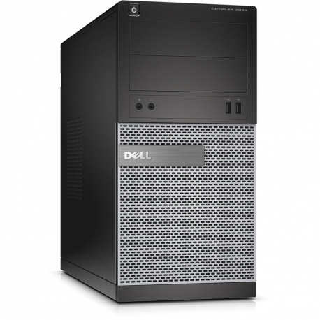 Ordinateur de bureau - Dell OptiPlex 3020 Tour reconditionné - 8Go - 2To HDD - Windows 10