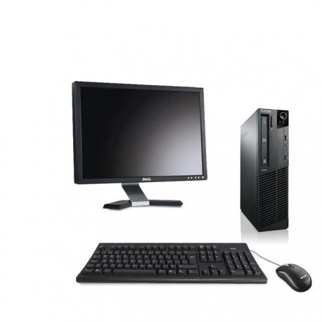 """Pack M73 Lenovo thinkcentre - Pentium - 4Go - 120Go SSD + Ecran 20"""""""
