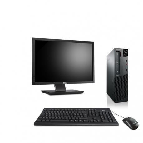 """Pack M73 Lenovo thinkcentre - Pentium - 4Go - 120Go SSD + Ecran 22"""""""