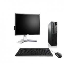 """Pack M73 Lenovo thinkcentre - Pentium - 4Go - 500Go SSD + Ecran 19"""""""