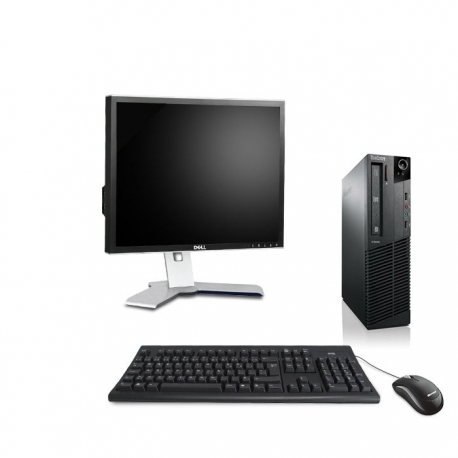 "Pack M73 Lenovo thinkcentre - Pentium - 4Go - 250Go HDD linux + Ecran 19"""
