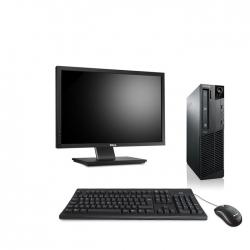 "Pack M73 Lenovo thinkcentre - Pentium - 4Go - 120Go SSD linux + Ecran 22"""