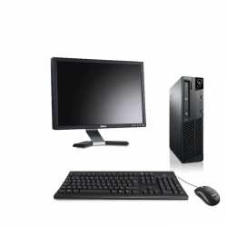 Pack M73 Lenovo thinkcentre - Pentium - 4Go - 2to HDD linux + Ecran 20""