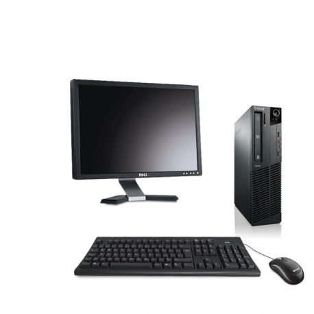 Pack M73 Lenovo thinkcentre - Pentium - 8Go - 2to HDD linux + Ecran 20""