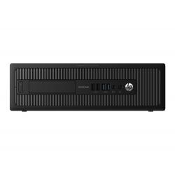 Pc de bureau - HP EliteDesk 800 G1 format SFF reconditionné - 4Go - SSD 500 Go - Linux