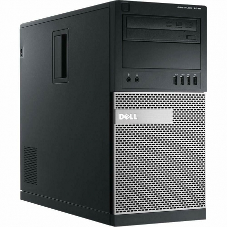 Ordinateur de bureau - Dell OptiPlex 7010 MT reconditionné - 8Go - SSD 120Go - Linux