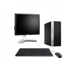 HP EliteDesk 800 G3 Tour - 8Go - 2To HDD + Ecran 19