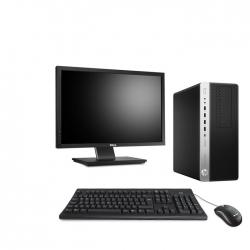 HP EliteDesk 800 G3 Tour - 4Go - 240Go SSD + Ecran 22 - Linux