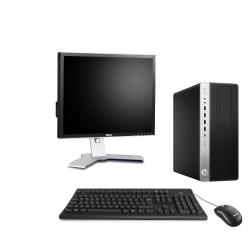 HP EliteDesk 800 G3 Tour - 8Go - 240Go SSD + Ecran 19 - Linux